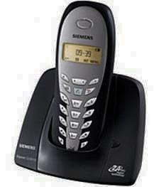 Telefone Sem fio Siemens Gigaset CL5010 Preto