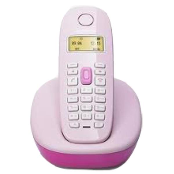 Telefone sem fio Gigaset A380 Pink display e teclado Iluminados com Indenficador de chamadas