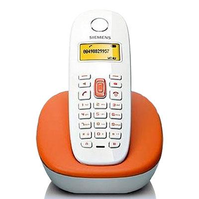 Telefone sem fio Gigaset A380 Orange display e teclado Iluminados com Indenficador de chamadas