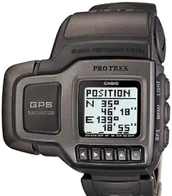 Relógio Casio PRT-1GP-J GPS Satellite Protrek Navigator