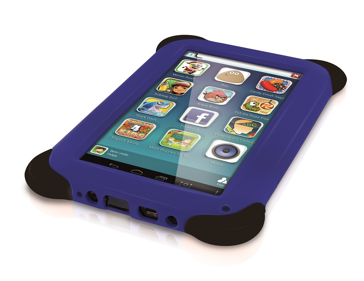 Tablet Kid Pad 7 Azul Dual Core Multilaser NB124