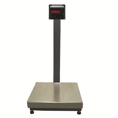 Balança Industrial Plataforma em Aço Carbono Ramuza DP - Capacidade: 150kg, Base: 40x50cm, IDR de ABS sem bateria