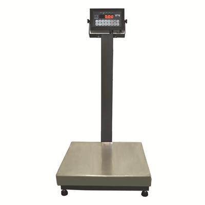 Balança Industrial Plataforma em Aço Carbono Ramuza DP - Capacidade: 500kg, Base: 60x60cm, IDR de Ferro