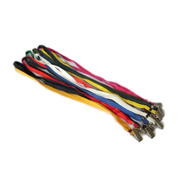 Cordão para crachá com clips embalagem com 25 unid. Mares Azul Marinho