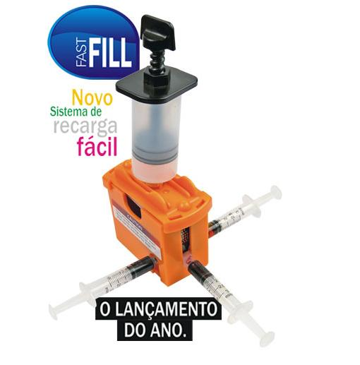 Kit de Recarga de Cartuchos Road Ink HDink Fast Fill Modelo: RC1