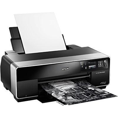 Impressora Epson Stylus Photo R3000 Formato A3 Fotografia Profissional  em 8 cores - Impressão em rolos, CDs e DVDs
