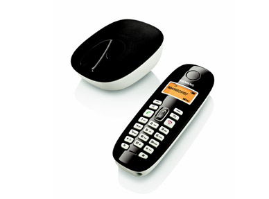 Telefone sem fio Gigaset A380 Preto e Branco (Express White)