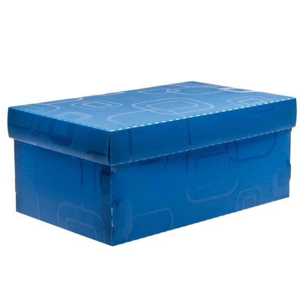Caixa Organizadora Mini Sapato DELLO Azul 2169