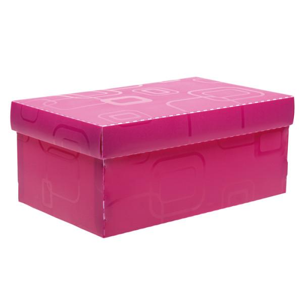 Caixa Organizadora Mini Sapato DELLO Rosa 2169