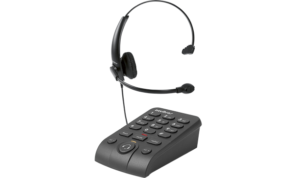 Telefone c/ Headset Intelbras HSB 50