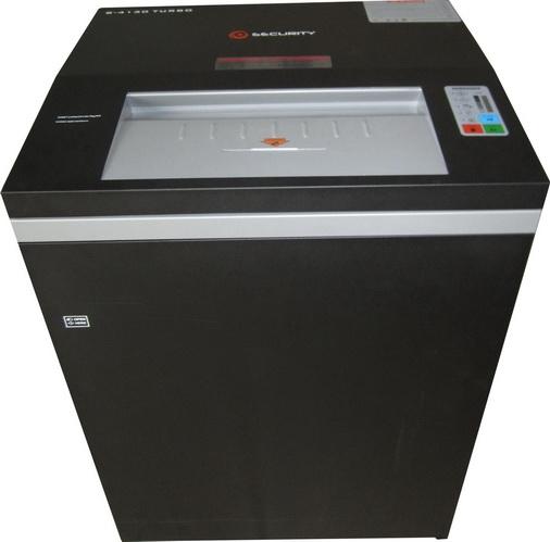 Fragmentadora de Papel Security 8800 corta 40 folhas em partículas de 3,9x40mm, fenda 410mm, Lixeira 150 litros, 2100W, Uso Contínuo, velocidade 115 metros por minuto