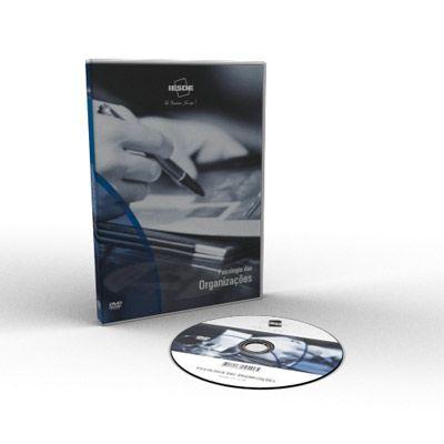 CURSO SOBRE PSICOLOGIA DAS ORGANIZAÇÕES EM DVD VÍDEO AULA  - Mundo dos Cursos