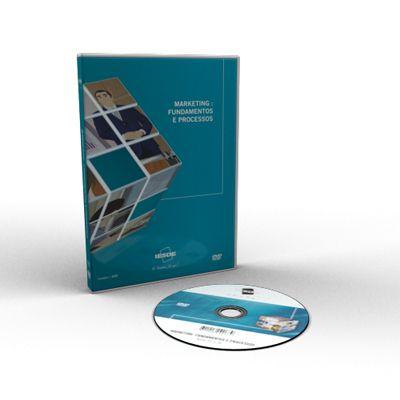 CURSO COMPLETO DE MARKETING - FUNDAMENTOS E PROCESSOS EM DVD VÍDEO AULA  - Mundo dos Cursos