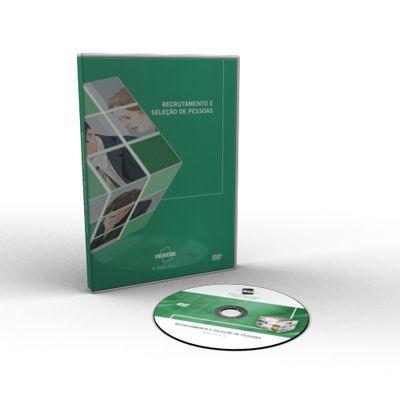 CURSO DE RECRUTAMENTO E SELEÇÃO DE PESSOAS EM DVD VÍDEO AULA + LIVRO IMPRESSO  - Mundo dos Cursos