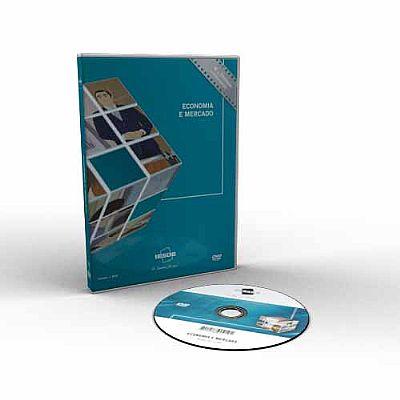 CURSO DE ECONOMIA E MERCADO EM DVD VÍDEO AULA - IDEAL TAMBÉM PARA CONCURSOS  - Mundo dos Cursos