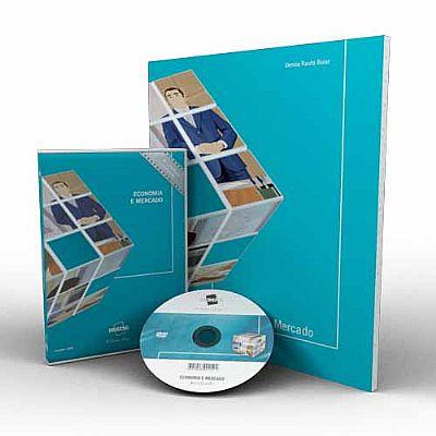 CURSO DE ECONOMIA DE MERCADO EM DVD VÍDEO AULA + LIVRO IMPRESSO  - Mundo dos Cursos
