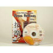 Curso Zonas Reflexas em 01 DVD v�deo aula