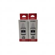 Kit 2 Refil tinta preta 190 G2100 G3100 G4100