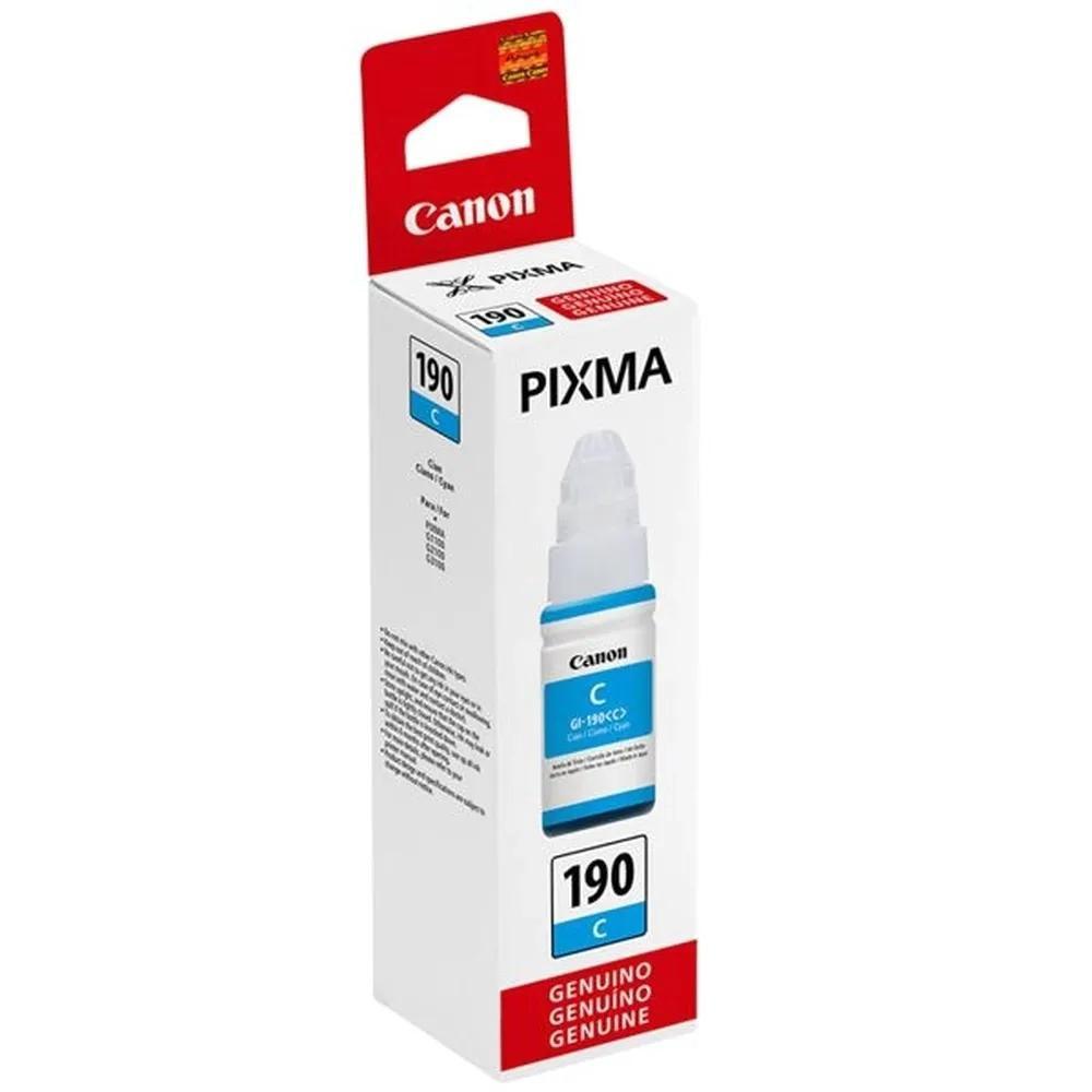 Refil/Garrafa Tinta Canon Gi-190 Cyan