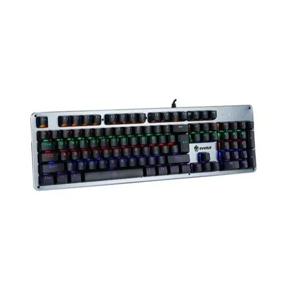 Teclado Gamer Mecânico Blacksmith RGB EG208 Evolut