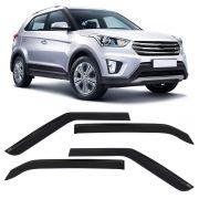 Calha Chuva Acrilica Hyundai Creta 2017- 4 Portas