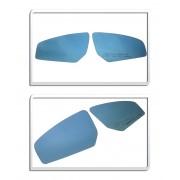 Espelho Para Retrovisor Sentra Lente Azul