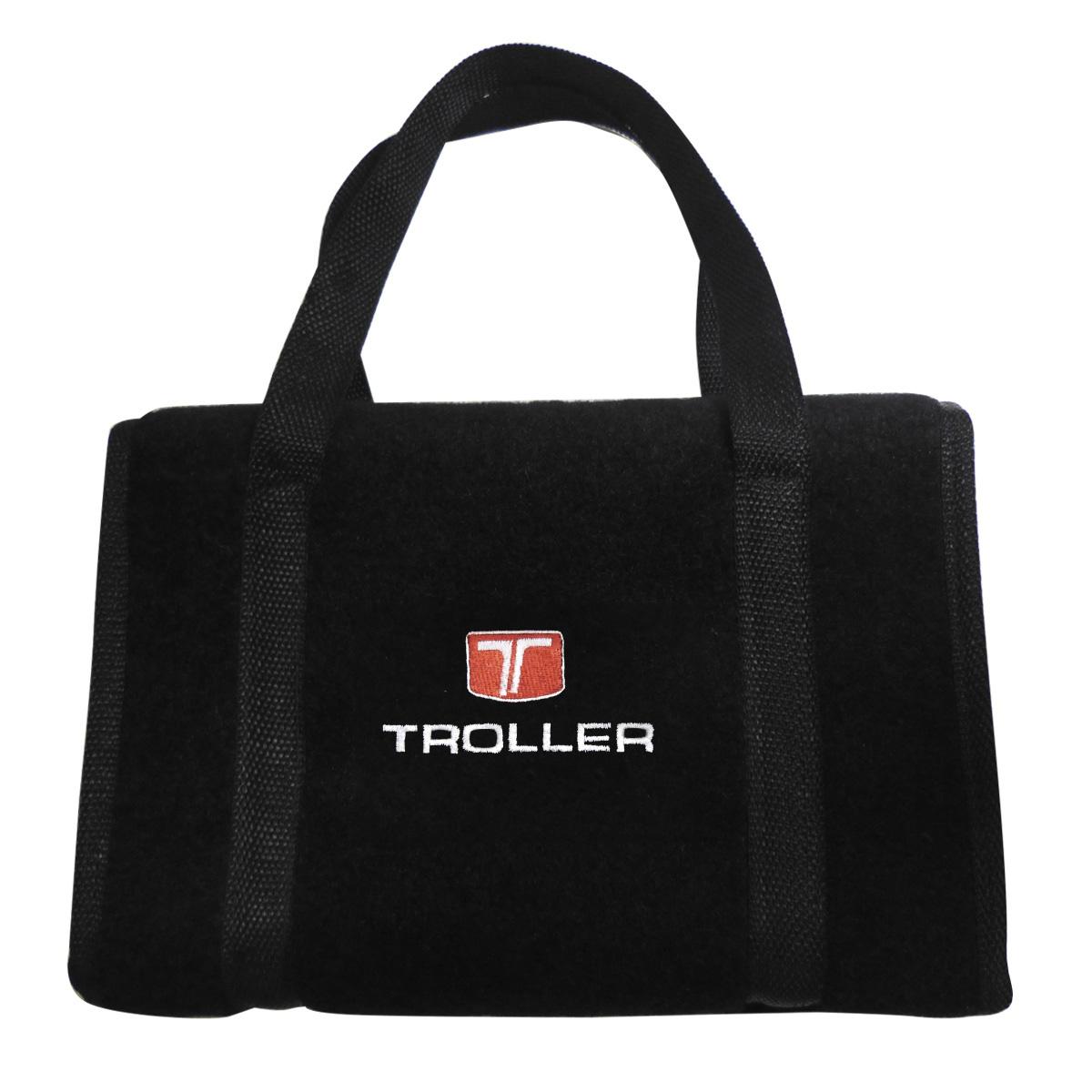 Bolsa Ferramentas Carpete Preto Velcro - Emblema Troller