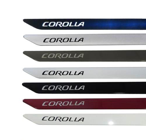 Jogo Friso Lateral Corolla 2015 2016 2017 - Modelo Original
