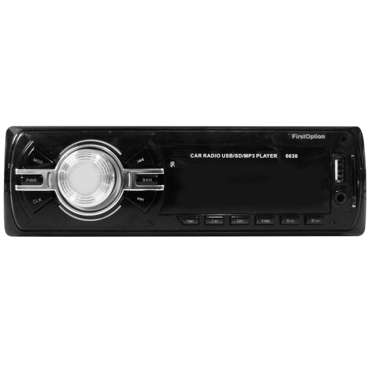 Rádio Som Automotivo MP3 FM USB SD Tela LED Carro