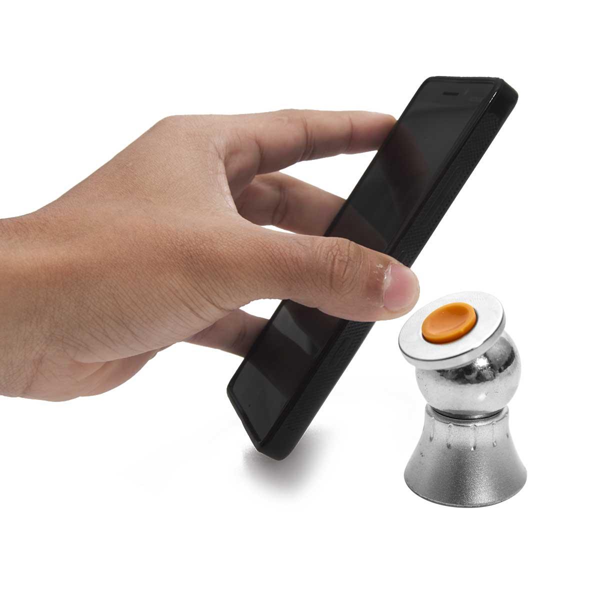 Suporte Celular Carro Im� Gps Tablet Magnetico 360 Graus