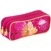 Estojo 3 compartimentos Barbie Butterfly - Sestini