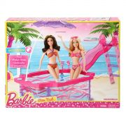 Piscina Barbie Glam Pool - Rosa/Azul - Mattel