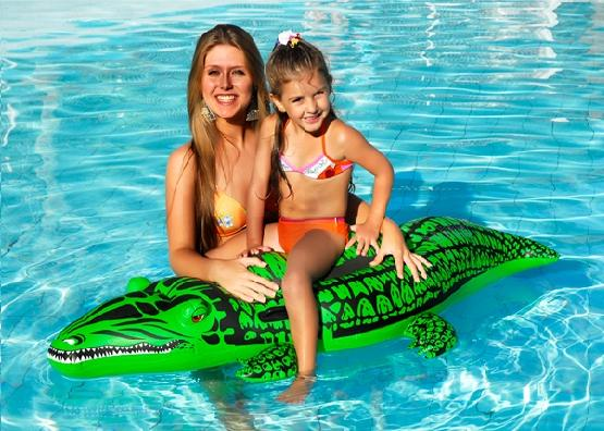 Boia Inflável Infantil Splash Fun Crocodilo - MOR