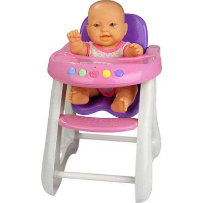 Cadeira da Papinha com Boneca - Cotiplás