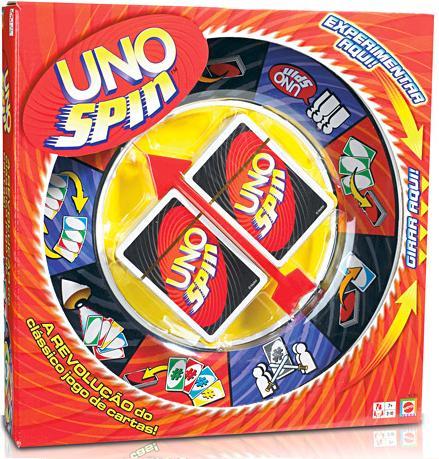 Jogo Uno Spin - Mattel