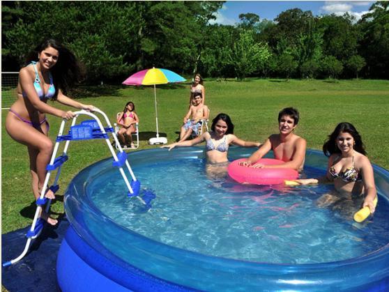 Piscina Inflável Splash Fun 4600 Litros - MOR