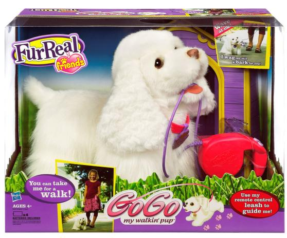 Fur Real Cachorrinho GoGo - Hasbro