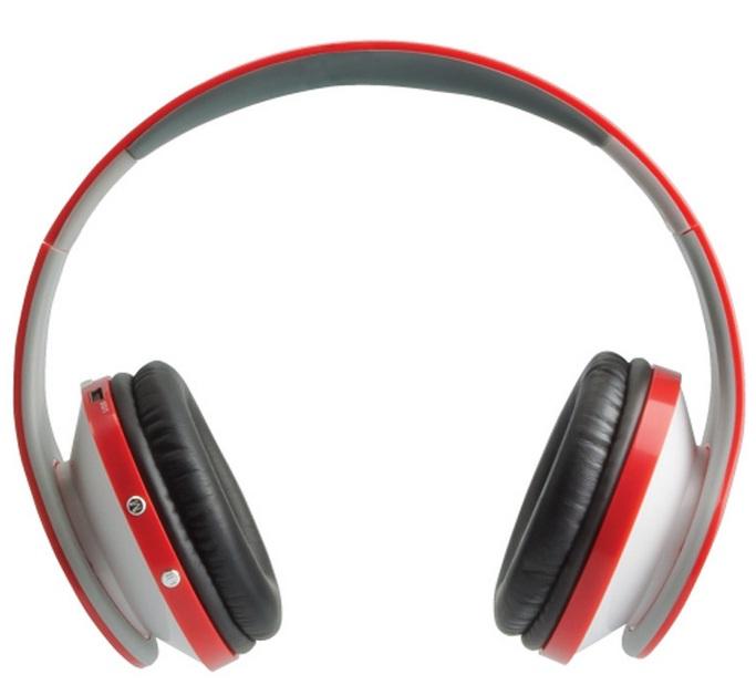 Fone de Ouvido Radical Beat MP3 com FM Vermelho - Fortrek
