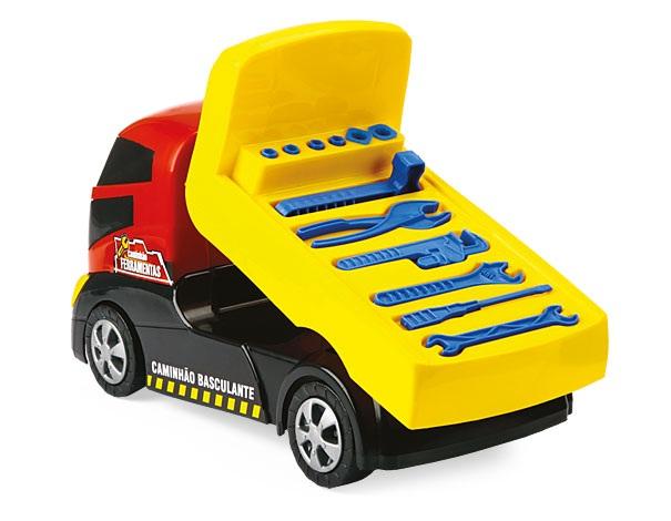 Caminhão Basculante Plus Ferramentas - Homeplay