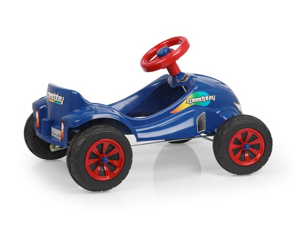 Carro a Pedal Speed Play Azul - Homeplay