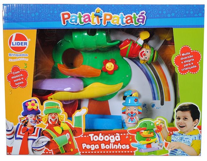 Tobogã Pega Bolinhas Patati Patatá - Lider