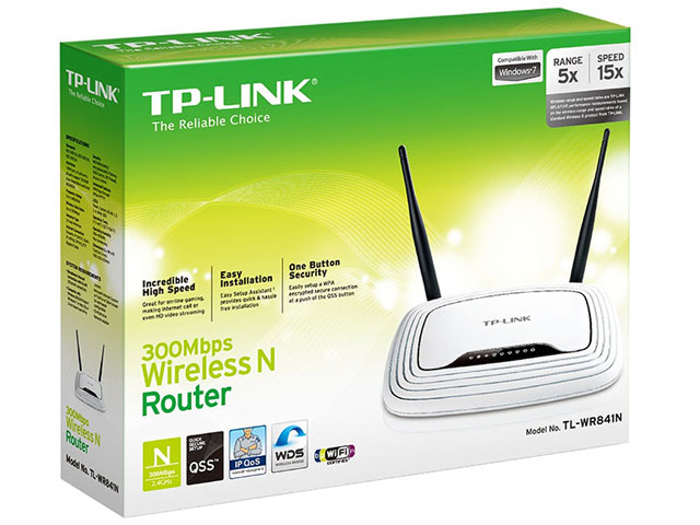 Roteador Wireless 300Mbps - TL-WR841ND - TP-Link