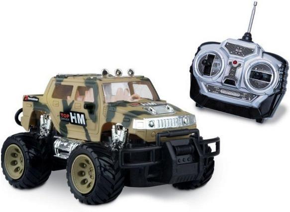 Carro com Controle Remoto Desert Storm Combate - Mimo