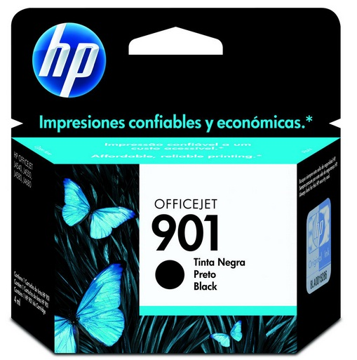 Cartucho de Tinta HP Original 901 Preto – HP