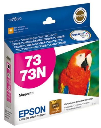Cartucho de Tinta Epson 73N Magenta Original - Epson