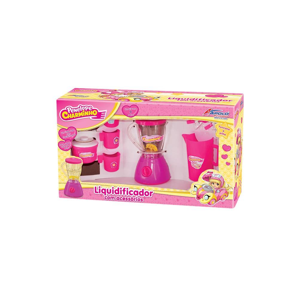 Kit Liquidificador com Acessórios Penélope Charminho  – Apolo Brinquedos