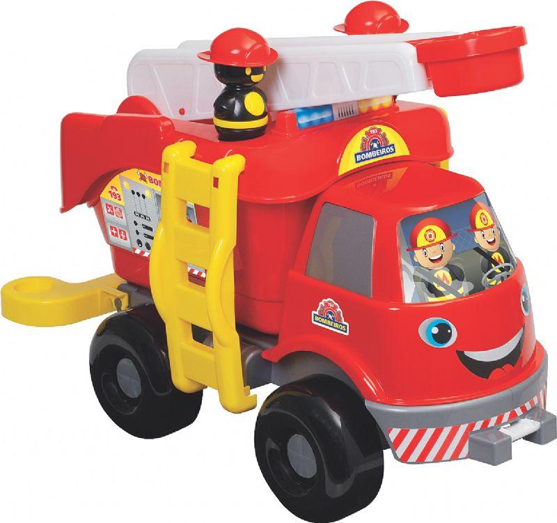 Caminhão Bombeiro Grande - Mercotoys