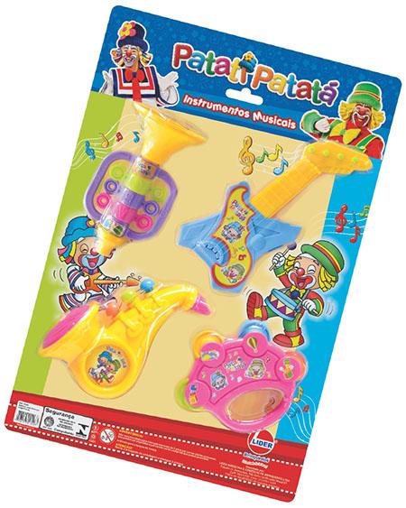 Coleção Instrumentos Musicais Patati Patatá – Lider Brinquedos