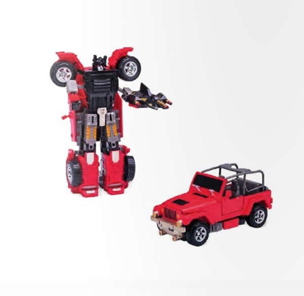 Robô Transformável Super Maquinas Jipe – Buba
