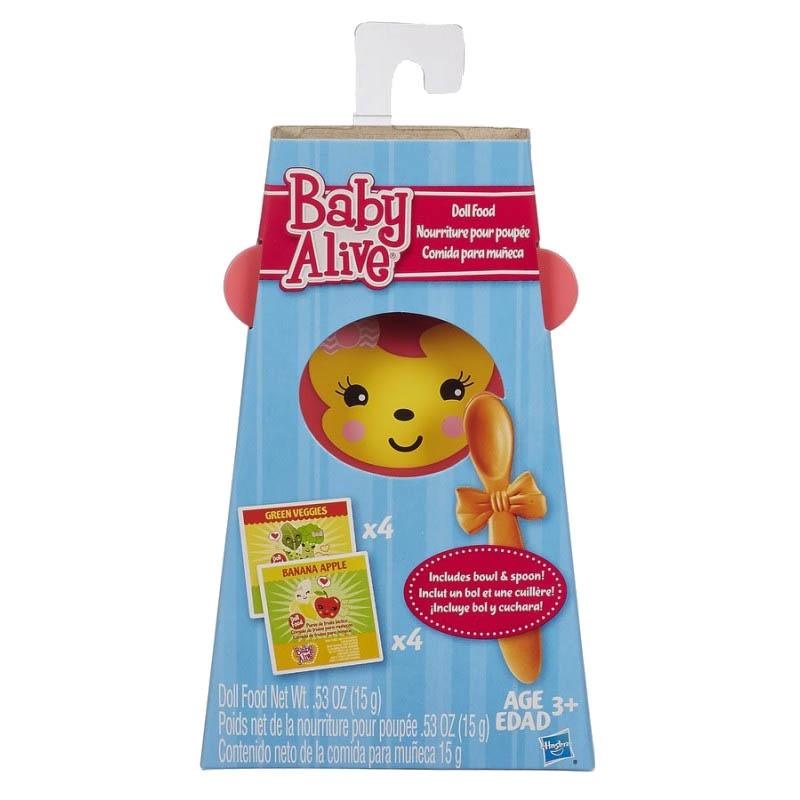 Baby Alive Comida para Boneca com Tigela e Colher - Hasbro